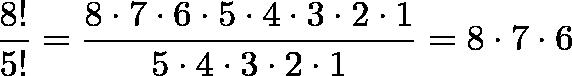 factorial permutation and combination pdf